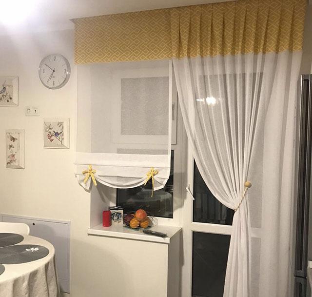 Штори для кухні