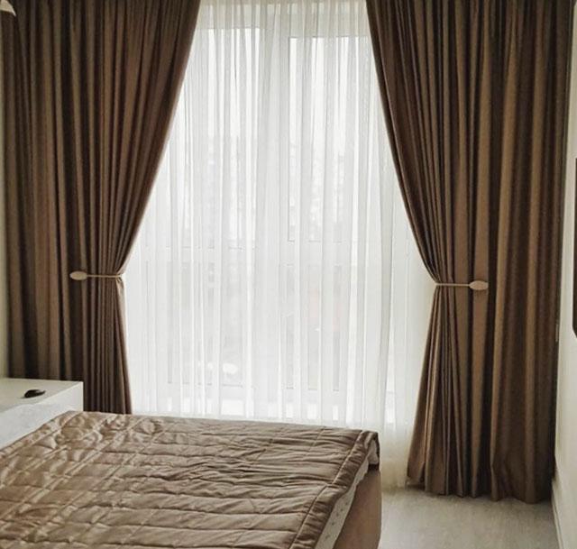 Штори для спальні